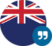 British Flag with quotation marks