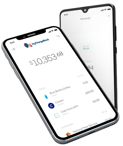 MyChargeBack Mobile Dispute App on iPhone X