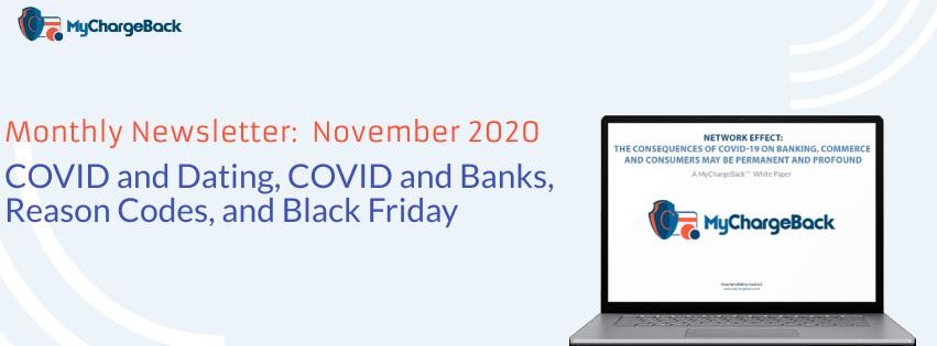 Newsletter MyChargeBack 2020 November